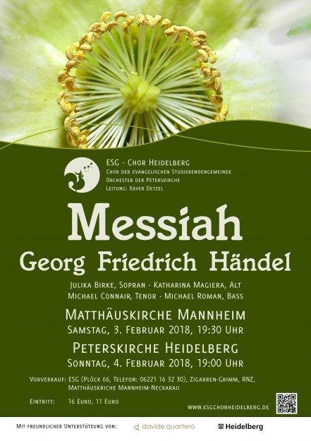 Konzertplakat 2017/2018