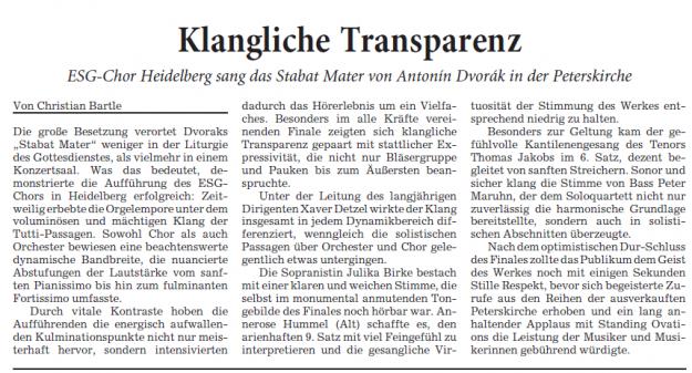 Rhein-Neckar-Zeitung, 05. Februar 2016