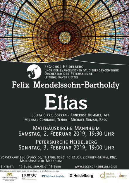 Konzertplakat WS 18/19