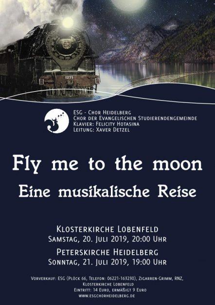 Konzertplakat SoSe19
